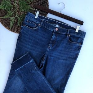 Loft | Jeans Modern Skinny Ankle Undone Hem 14